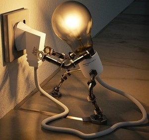 light bulb plugin itself in