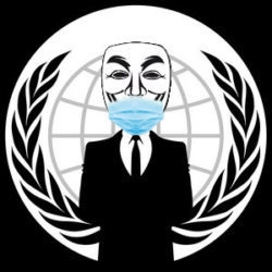 V - vendetta admin-facemask